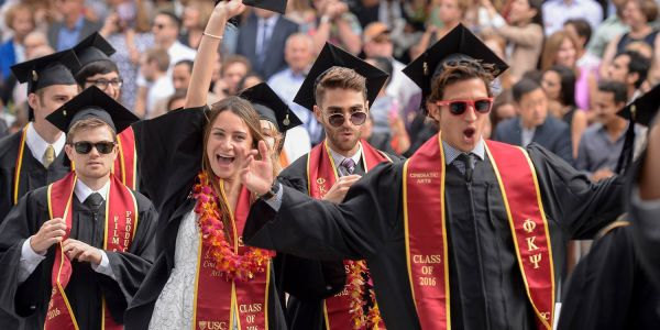 USC says it will offer free tuition to families making less than $80,000