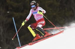 Hirscher trails 5th in World Cup slalom, Noel leads 1st run