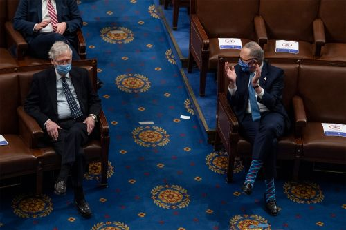 McConnell, Schumer inch closer to power-sharing deal after Dems back filibuster