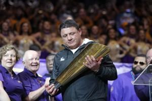 LSU, coach Ed Orgeron agree to six-year contract extension exceeding $42 million