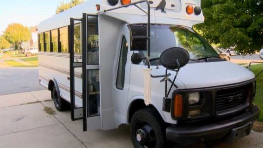 ICU nurse transforms school bus into after-shift oasis