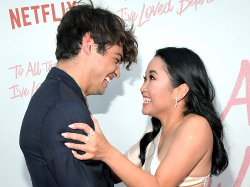 Lana Condor admits she had a crush on 'To All the Boys' co-star Noah Centineo, but they decided to keep it professional