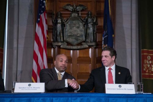 Assembly Speaker Carl Heastie is doing his best to cover for old pal Andrew Cuomo