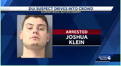 State Police: Man drives into crowd in Butler County while intoxicated, injures one
