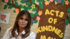 Melania Trump Wore a Jacket Saying 'I Really Don't Care' on Her Way to Texas Shelters