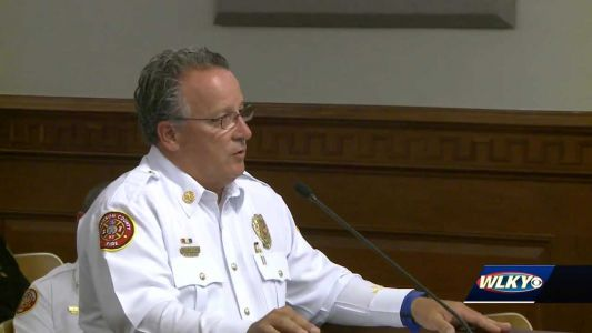 St. Matthews fire chief addresses public safety committee over lack of response at strip mall fire
