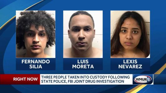 Three people taken into custody following joint state police, FBI investigation
