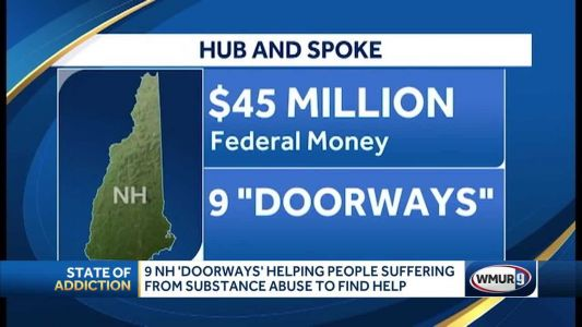 9 NH 'Doorways' helping people suffering from substance abuse to find help