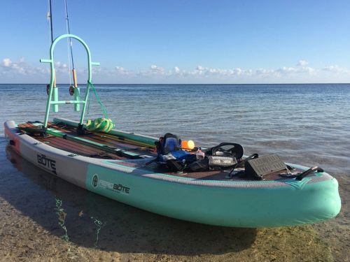 This $1,700 stand-up paddle board and fishing skiff hybrid is my new dream boat for stealthy fly fishing - here's why it's worth the cost