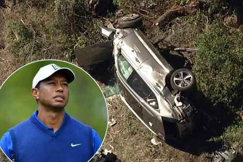 Tiger Woods had unlabeled pill bottle in SUV during car crash, was 'somewhat combative'
