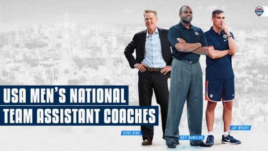 USA bolsters national team bench with Steve Kerr, Nate McMillan and Jay Wright