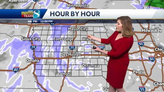 Blizzard conditions continue Friday morning