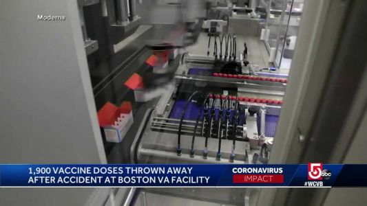 COVID-19 vaccines thrown away after accident at facility