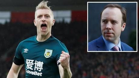 Don't blame the players: Burnley skipper Ben Mee criticizes UK government over coronavirus comments