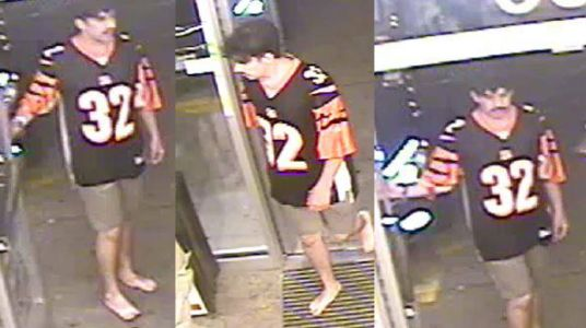 """Police look to identify """"barefoot beer bandit"""" in Florence"""
