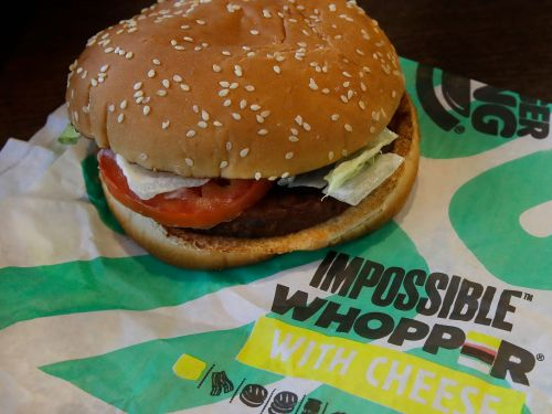 Angry vegans are suing Burger King for 'contaminating' Impossible Whoppers by cooking them on the same grill as meat products