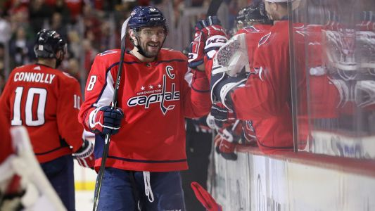 Alexander Ovechkin notches hat trick, extends lead in NHL goal scoring race