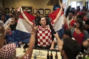 Tens of thousands welcome Croatia home after World Cup final