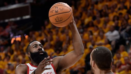NBA playoffs 2018: Watch James Harden dunk all over Draymond Green