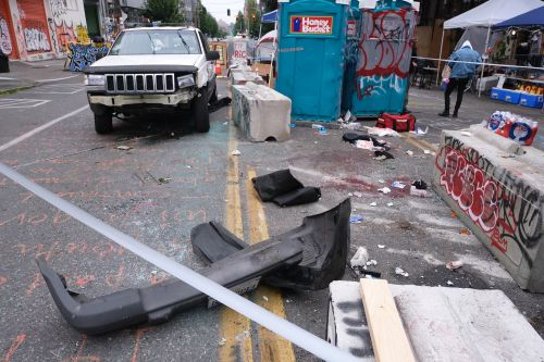 Teen shot dead in Seattle's CHOP was being chased after stealing Jeep