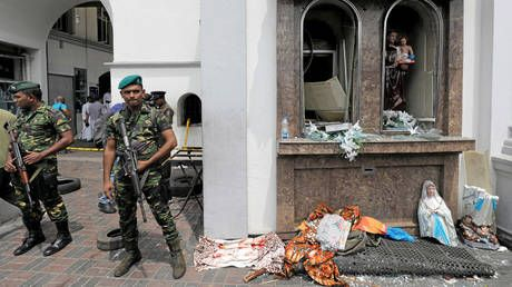 Sri Lanka imposes island-wide curfew after deadly blasts on Easter Sunday