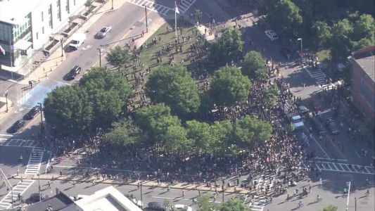 Thousands march in 'Say Her Name' rally to Boston Common