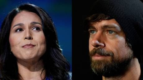 Twitter CEO maxes out donations to Tulsi Gabbard.conspiracy machine kicks into overdrive