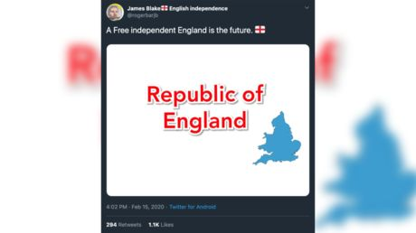 Man's 'Independent England' campaign undermined by one fatal geographical error