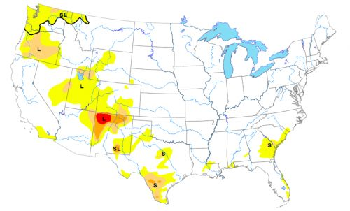 Belski's Blog - Drought levels are very low in the U.S