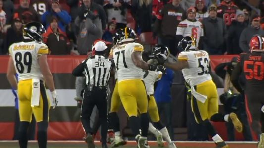 'He could have killed him': Fight breaks out at end of Steelers-Browns game