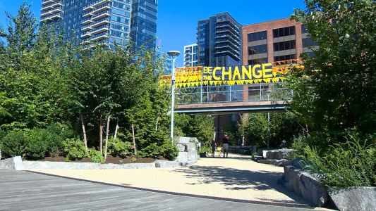 New 'Be the Change' installation up at Martin's Park