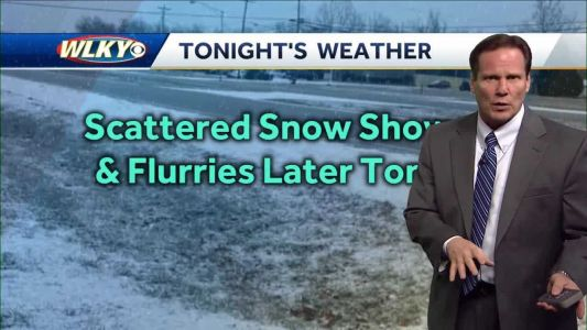 Patchy Light Snow Possible Tonight