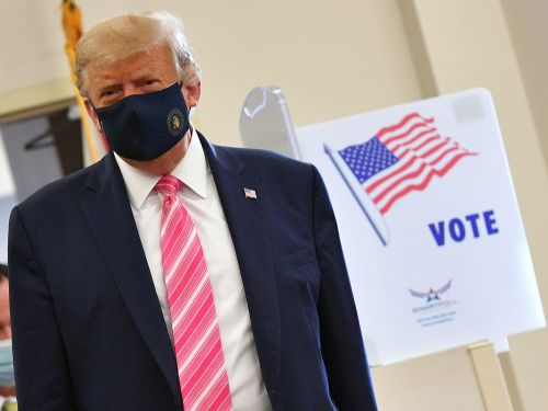 President Trump says he casted a 'very secure vote' for himself after he voting in-person in Florida