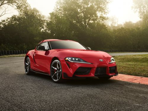 The legendary Toyota Supra sports cars has returned to America after a 20-year absence to take on Porsche, BMW, and Mercedes