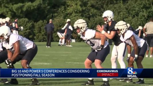 Penn State, Big 10, football uncertain amid coronavirus pandemic