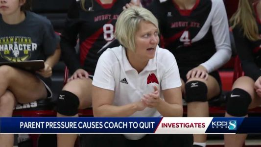 Sports politics, pressure from parents lead Iowa volleyball coach to resign