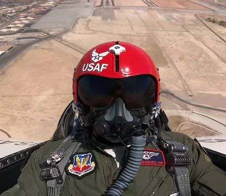 AFRS teams up with Thunderbirds to fly UFC champion