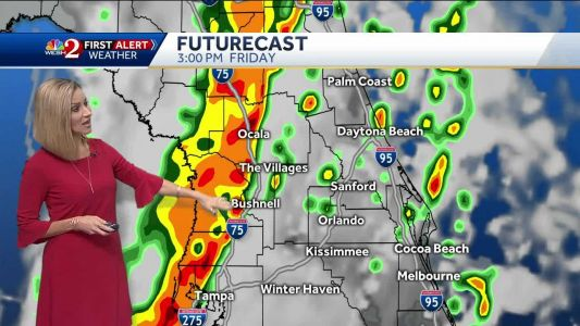 Strong storms to roll into Central Florida Friday afternoon