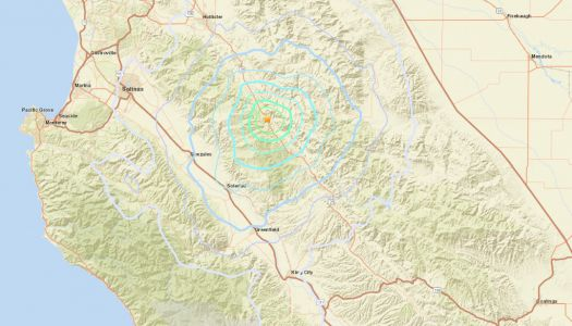 Two earthquakes shake central Monterey County overnight