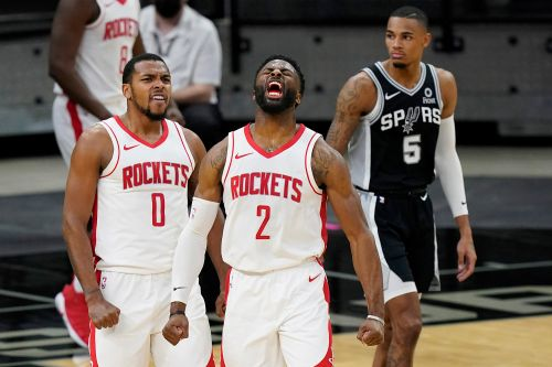 Christian Wood, Rockets Beat Spurs for 1st Win After James Harden-Nets Trade