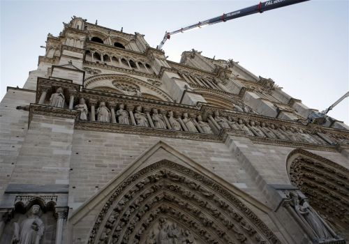 Notre Dame Cathedral's reconstruction sparks architectural design debate