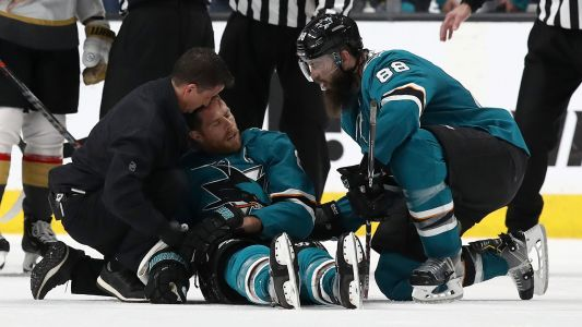 Joe Pavelski injury update: Sharks don't expect captain to play in Game 1 vs. Avalanche