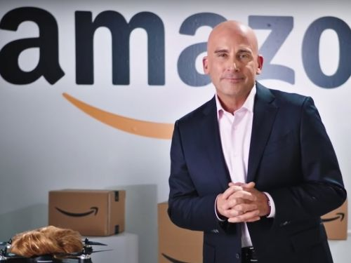 Steve Carrell played Amazon's Jeff Bezos on 'SNL' and promised that he wasn't trolling Trump with HQ2
