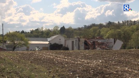 NWS: Tornado that touched down Friday in Franklin County had winds up to 120 mph
