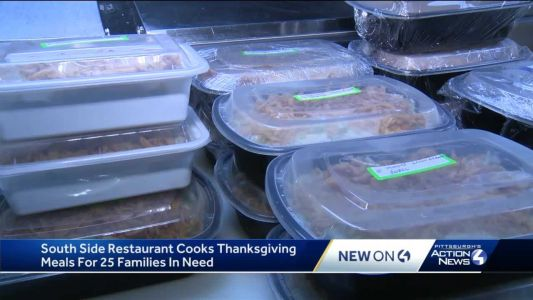South Side restaurant cooks Thanksgiving meals for 25 families in need