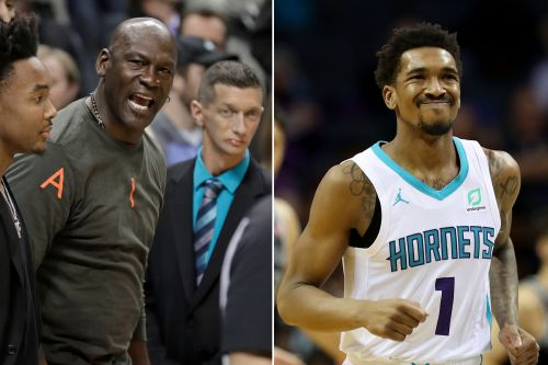 Why Michael Jordan smacked Hornets star Malik Monk twice