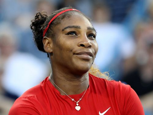 'I never touched it': Serena Williams tried to deposit her first million-dollar check in the bank drive-thru