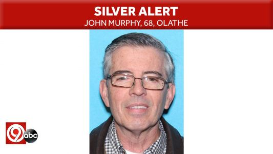 Silver Alert issued for 68-year-old Olathe man