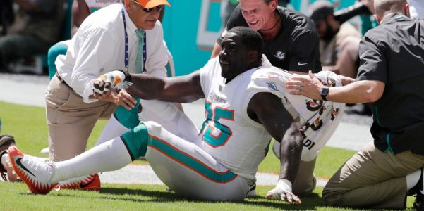 A Dolphins player suffered a season-ending injury while trying to follow a new rule to protect quarterbacks and now the NFL is under fire again
