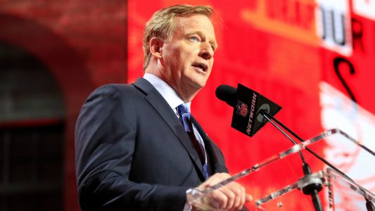 NFL's Roger Goodell downplays idea of draft lottery to discourage tanking